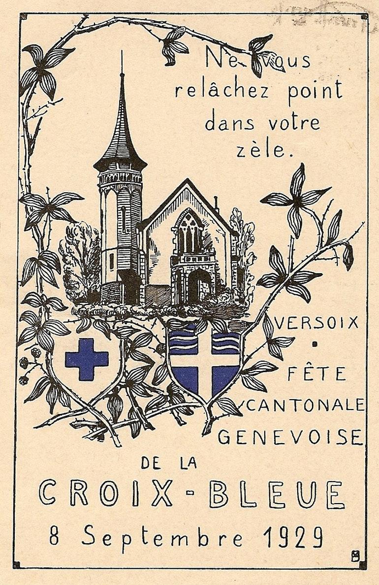Fête Cantonale Genevoise de la Croix-Bleue  Versoix