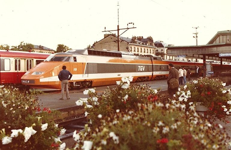 1er TGV Genève - Paris