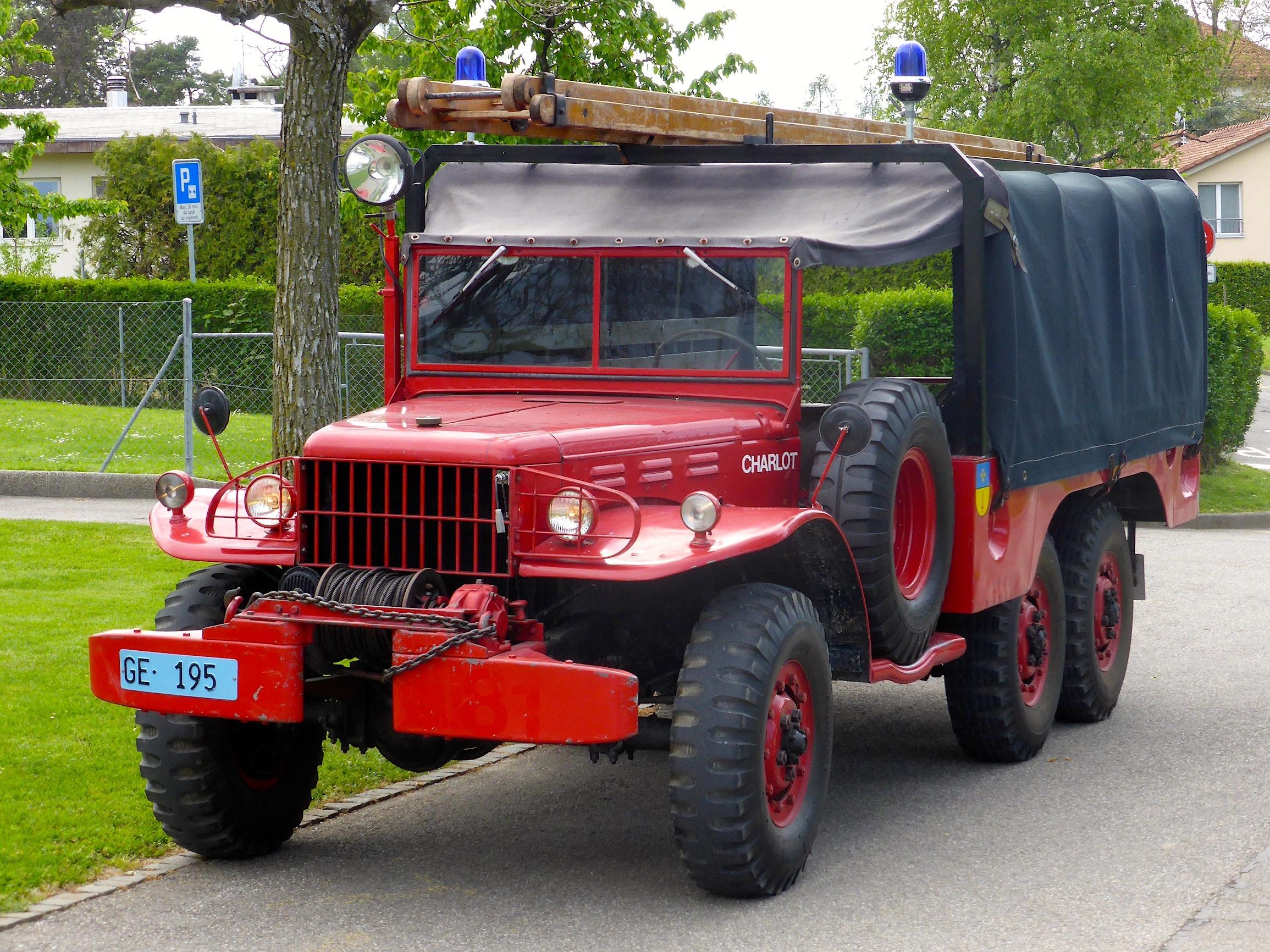 Dodge WC63, 6x6 - notreHistoire.ch
