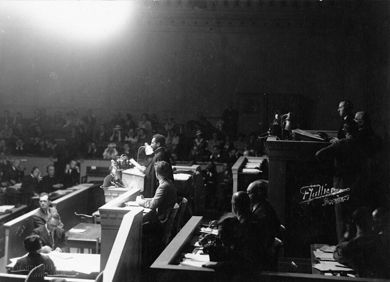 Discours de Haïlé Sélassié 1er à la Société des Nations