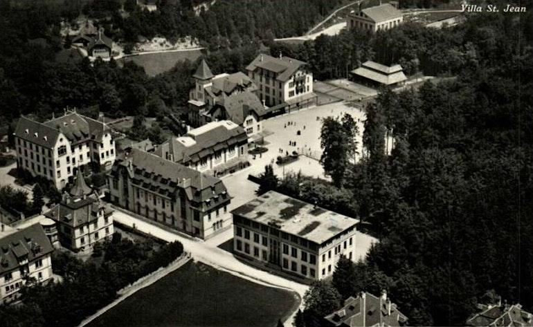Vue aerienne Villa St-Jean
