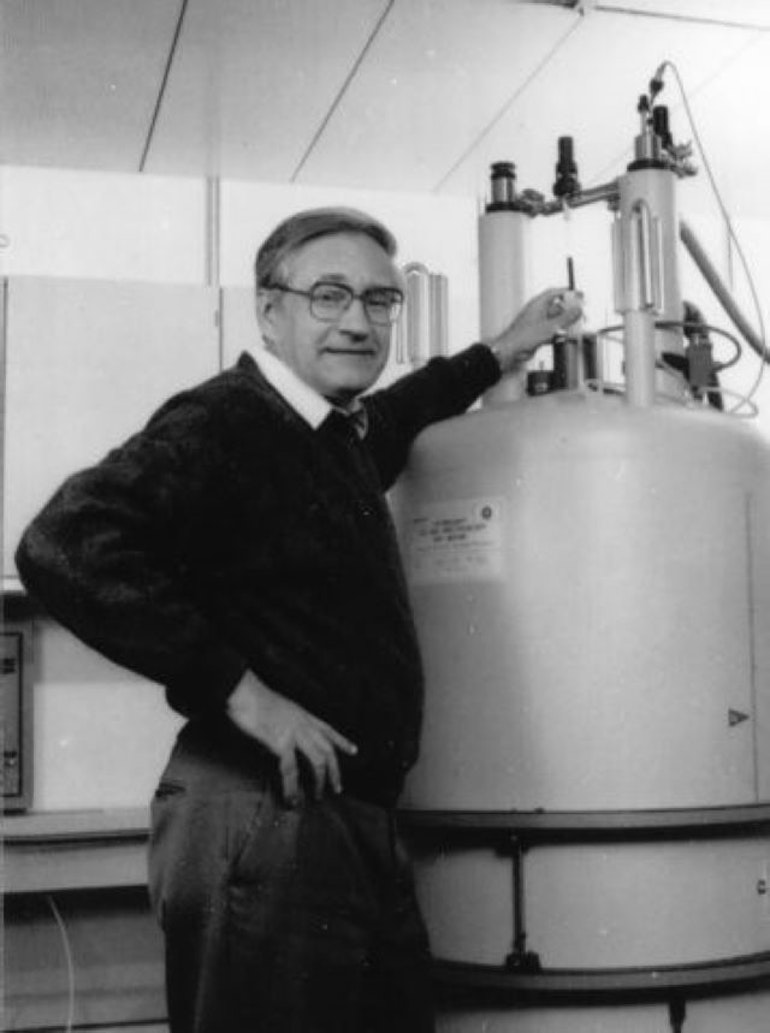 Richard Ernst, Prix Nobel de chimie en 1991
