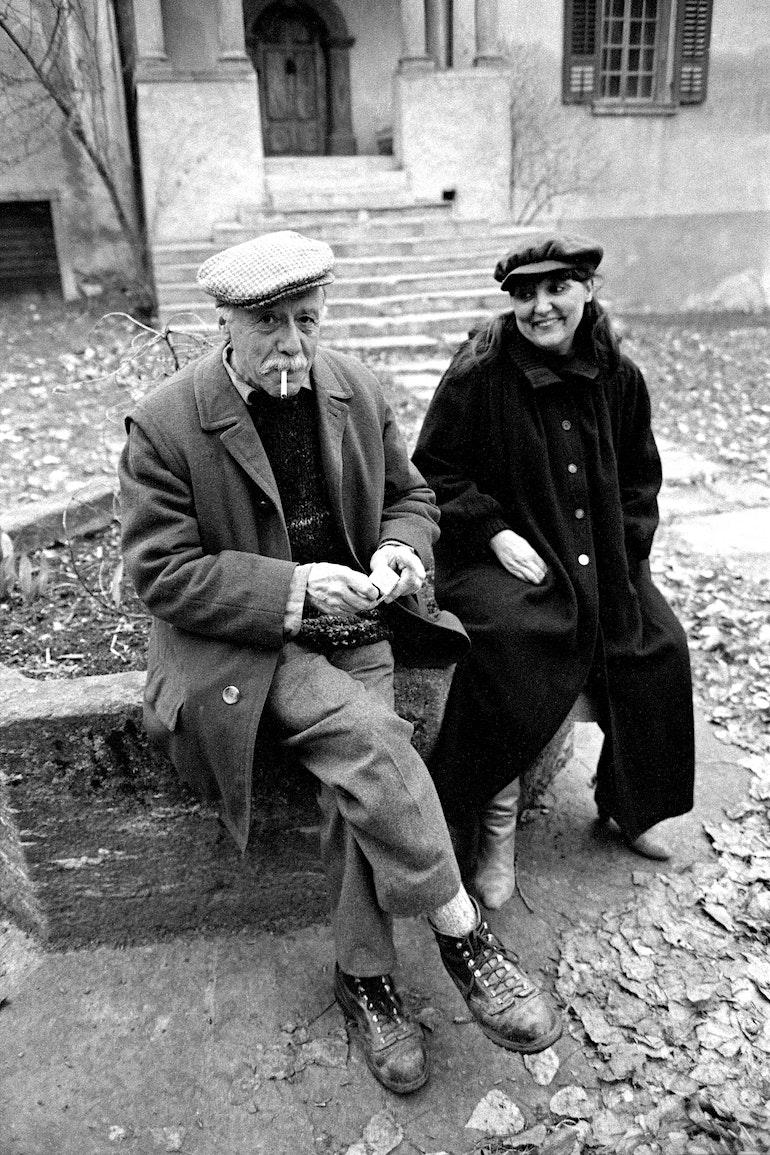 Maurice Chappaz et Michène