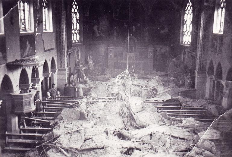Le tremblement de terre de 1946.