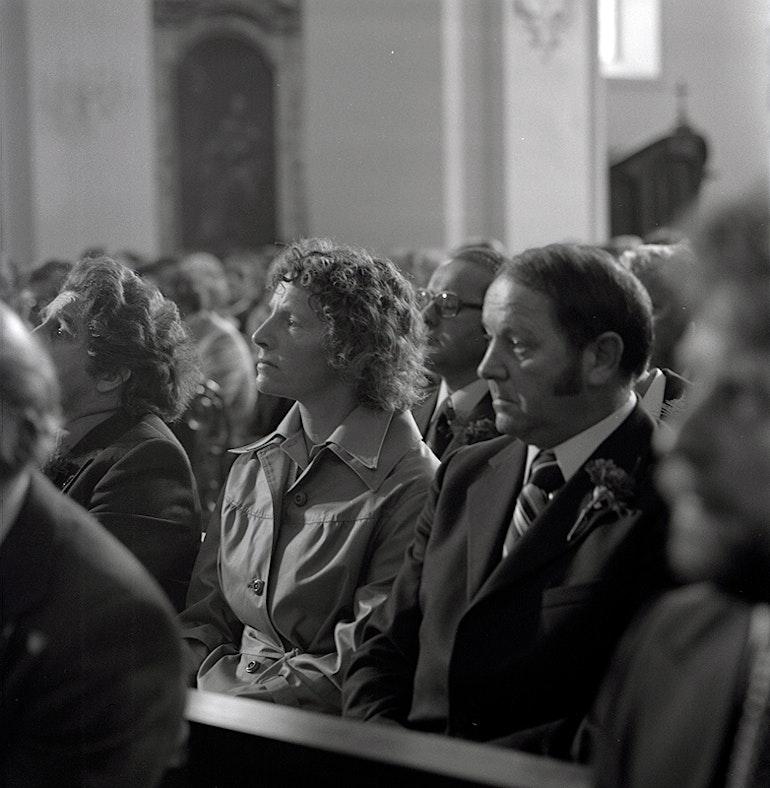 Assemblée constituante jurassienne réunie pour la première fois le 12 avril 1976 en l'église Saint-M