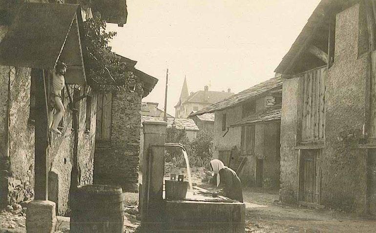 La lavandière à Muraz