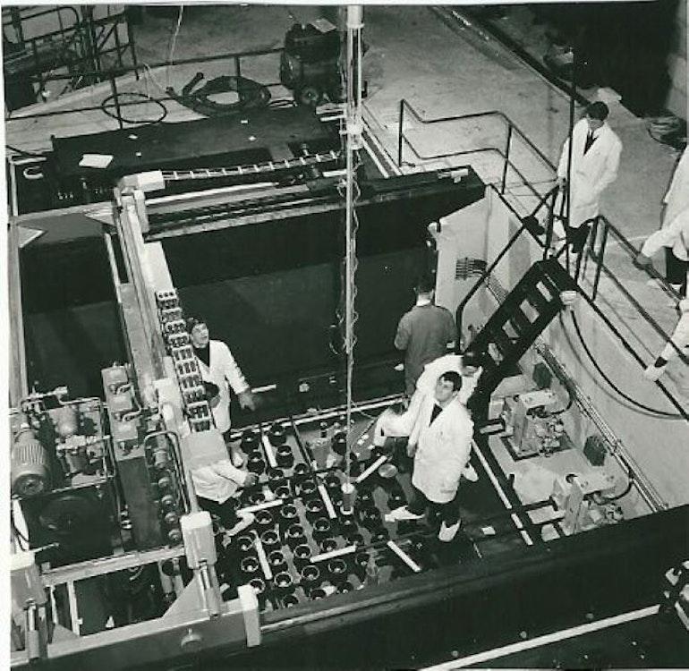 La centrale nucléaire de Lucens