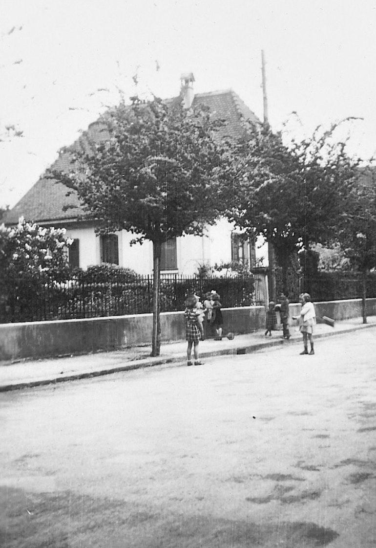 Scène de rue en 1943
