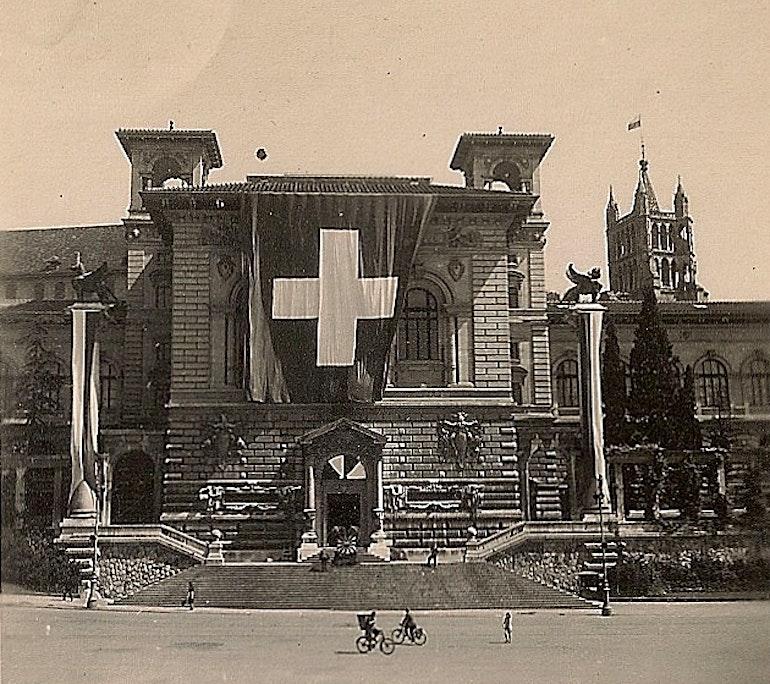 Lausanne - Le Palais de Rumine