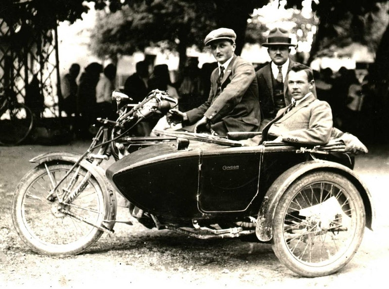 "Moto ""Condor"" 8 HP Side-car 1924"