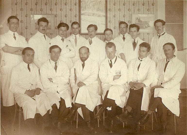 Leysin sanatorium populaire