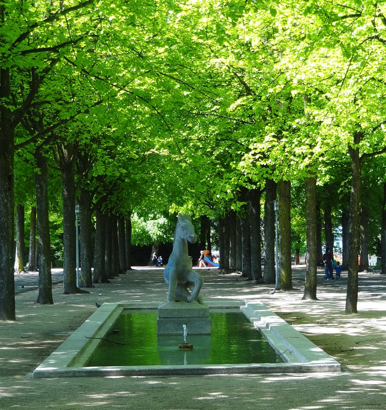 Lausanne - Parc de Valency