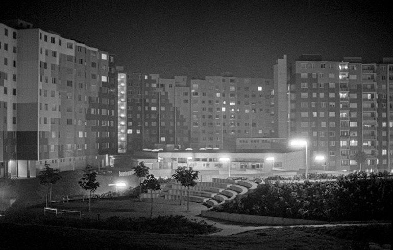La nuit aux Avanchets