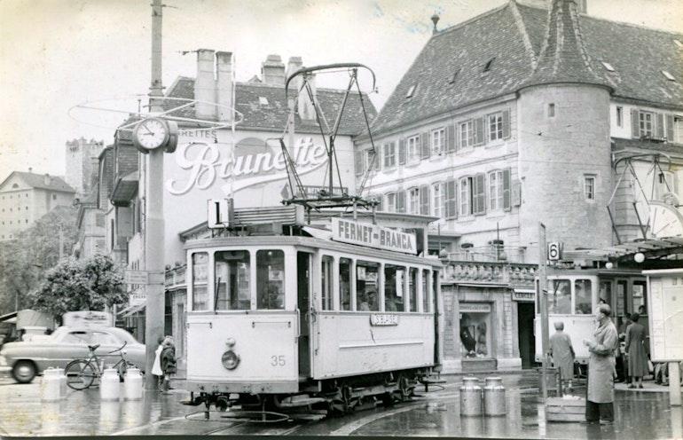 Nauchâtel, un tramway