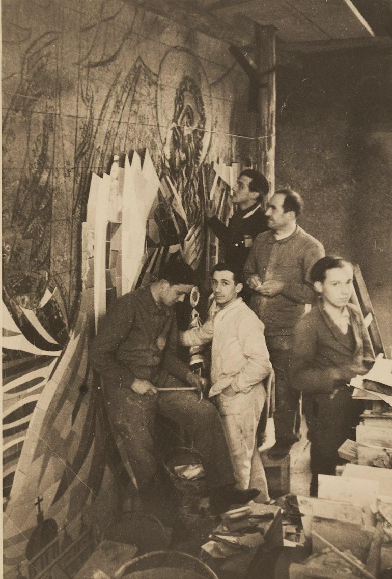 Albert Gaeng à l'oeuvre