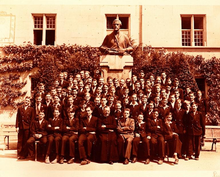 Collège Saint - Michel Fribourg - 1949