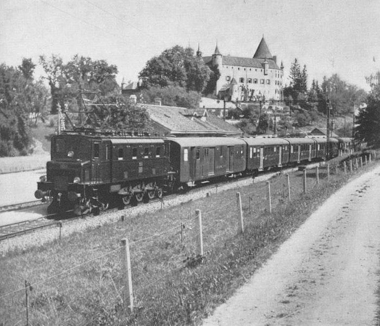 Château d'Oron 1943
