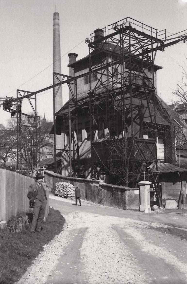 Fribourg, l'usine à gaz