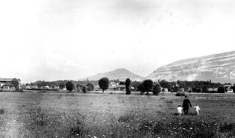 La praille en 1924