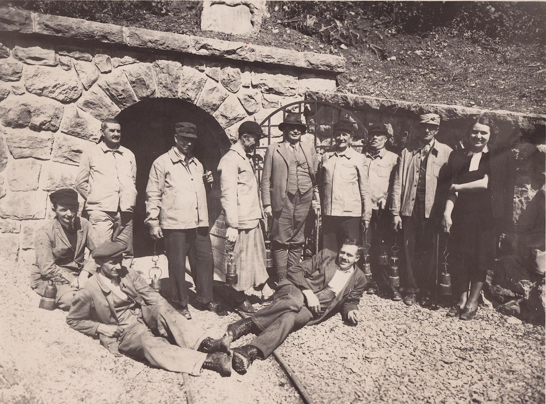 Mineurs de Bex