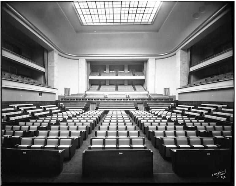 La salle des assemblées de la SDN