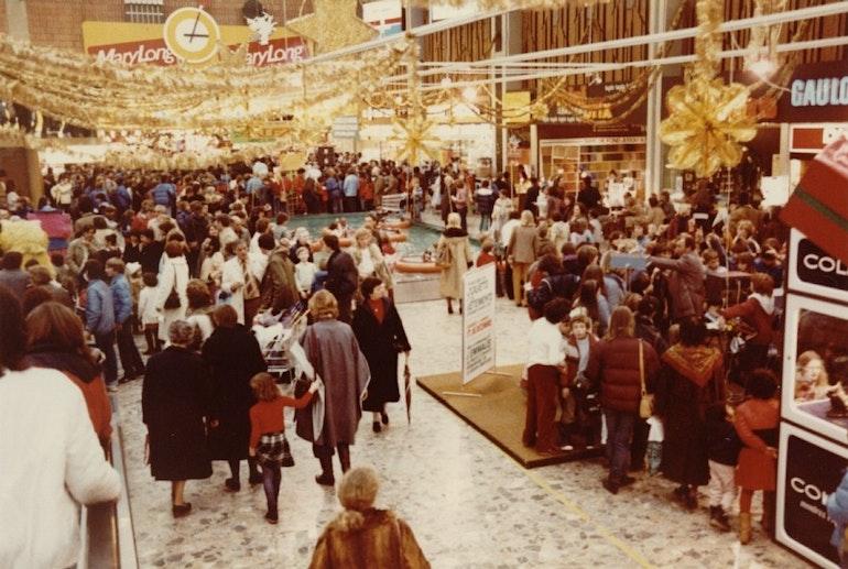 Hall de Balexert, Fêtes de Noël 1982