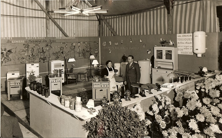 EEF Foire aux Provisions Fribourg 1941