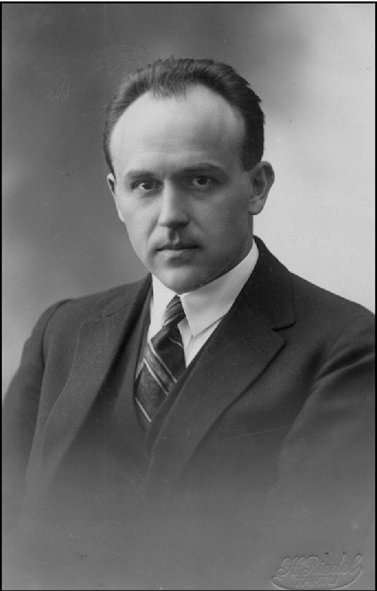 Portrait d'Alfred Fleisch